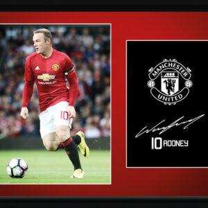 Posters Manchester United - Rooney 16/17 rám s plexisklem - Posters