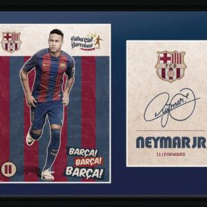 Posters Barcelona - Neymar Vintage 16/17 rám s plexisklem - Posters