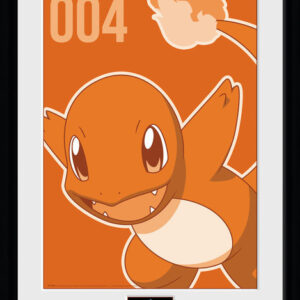 Posters Pokemon - Charmander Mono rám s plexisklem - Posters