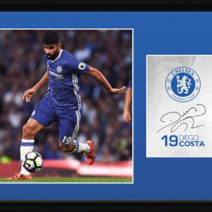 Posters Chelsea - Costa 16/17 rám s plexisklem - Posters