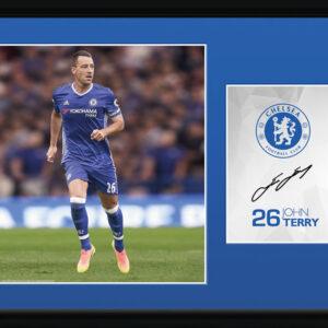 Posters Chelsea - Terry 16/17 rám s plexisklem - Posters