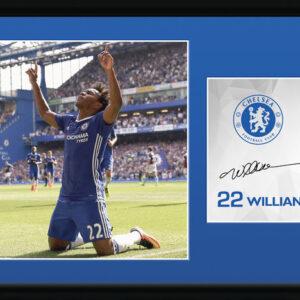 Posters Chelsea - Willian 16/17 rám s plexisklem - Posters