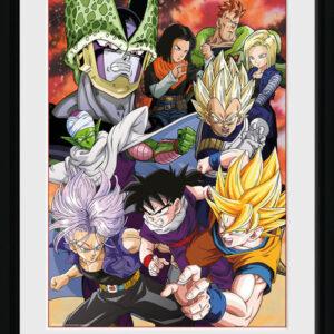Posters Dragon Ball Z - Cell Saga rám s plexisklem - Posters