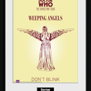 Posters Doctor Who - Spacetime Tour Weeping Angels rám s plexisklem - Posters