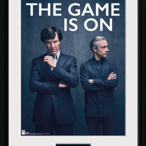 Posters Sherlock - The Game Is On rám s plexisklem - Posters