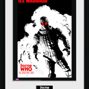 Posters Doctor Who - Spacetime Tour Ice Warrior rám s plexisklem - Posters