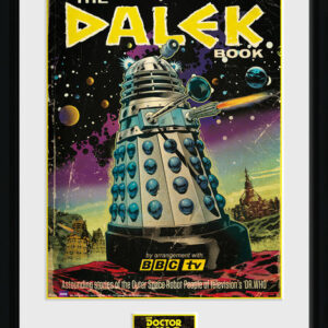 Posters Doctor Who - The Dalek Book rám s plexisklem - Posters