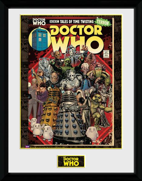 Posters Doctor Who - Villains Comic rám s plexisklem - Posters
