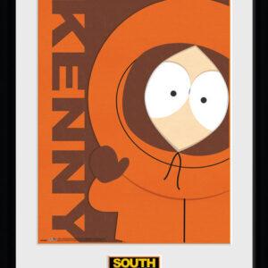 Posters Městečko South Park - Kenny rám s plexisklem - Posters