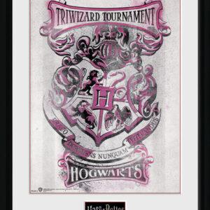 Posters Harry Potter - Triwizard Hogwarts rám s plexisklem - Posters