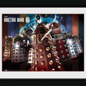 Posters Doctor Who - Daleks rám s plexisklem - Posters