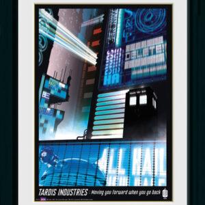 Posters Doctor Who - Tardis Industries rám s plexisklem - Posters