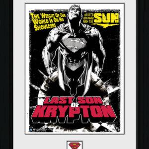 Posters Superman - Last Son Of Krypton rám s plexisklem - Posters
