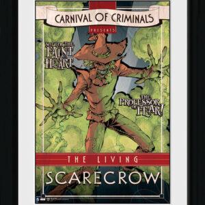 Posters Batman Comic - Circus Scarecrow rám s plexisklem - Posters