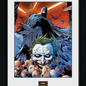 Posters Batman Comic - Joker Defeated rám s plexisklem - Posters