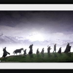 Posters Pán Prstenů - Fellowship rám s plexisklem - Posters