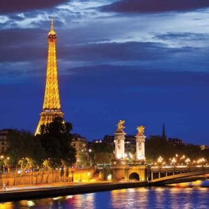 Posters Fototapeta The Eiffel Tower 368x254 cm - 115g/m2 Paper - Posters