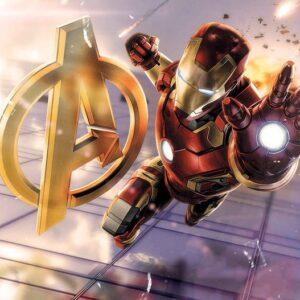 Posters Fototapeta Marvel Avengers 254x184 cm - 115g/m2 Paper - Posters
