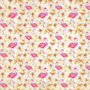 Posters Fototapeta Flamingos Bird Pattern 254x184 cm - 115g/m2 Paper - Posters