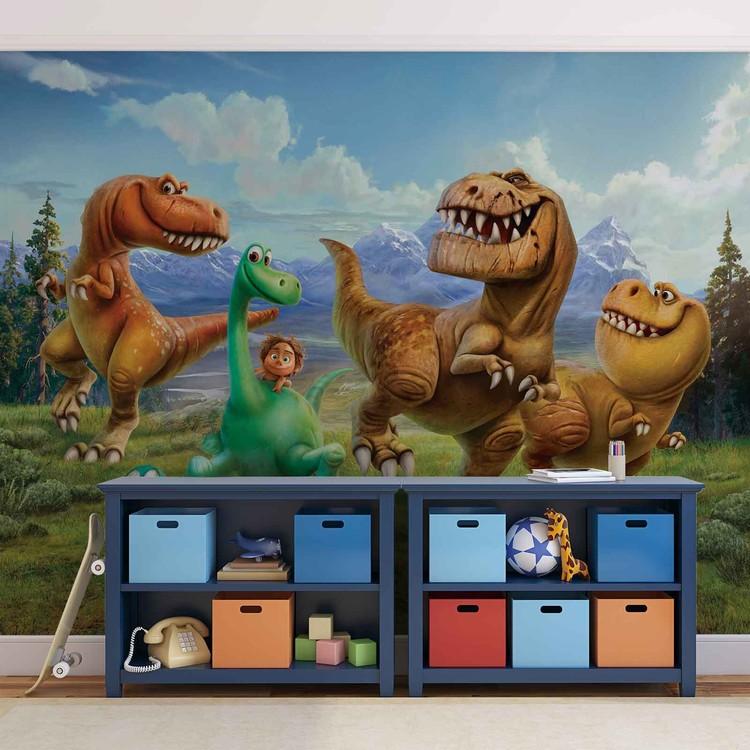 Posters Fototapeta Disney Good Dinosaur 254x184 cm - 115g/m2 Paper - Posters