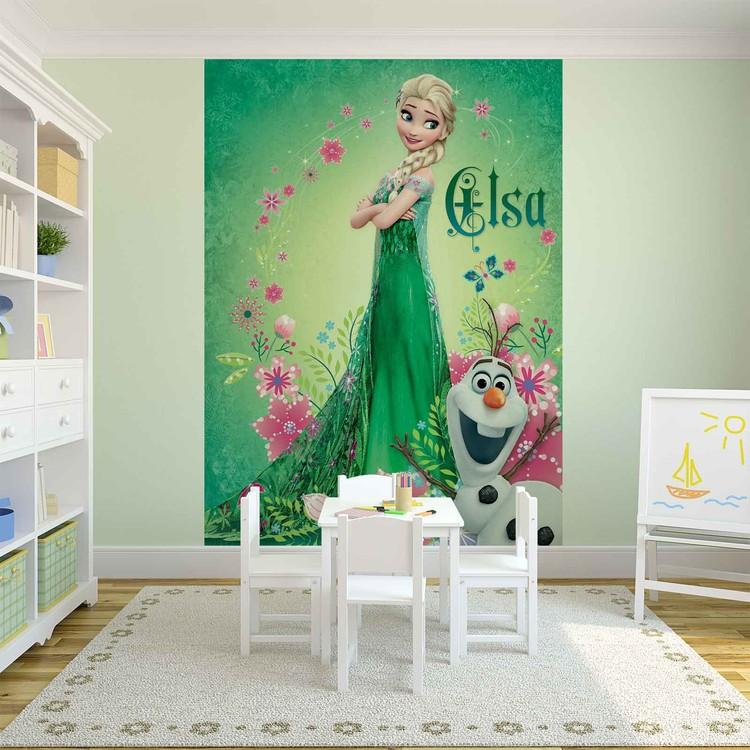 Posters Fototapeta Disney Frozen 206x275 cm - 130g/m2 Vlies Non-Woven - Posters