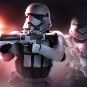 Posters Fototapeta Star Wars Force Awakens 254x184 cm - 115g/m2 Paper - Posters