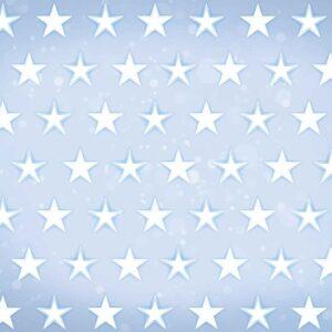 Posters Fototapeta Stars Pattern Blue 254x184 cm - 115g/m2 Paper - Posters