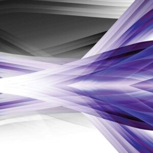 Posters Fototapeta Abstract Light Pattern Purple 254x184 cm - 115g/m2 Paper - Posters