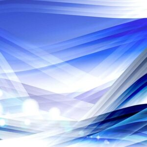 Posters Fototapeta Abstract Light Pattern Blue 254x184 cm - 115g/m2 Paper - Posters