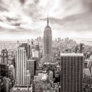 Posters Fototapeta City Skyline Empire State New York 254x184 cm - 115g/m2 Paper - Posters