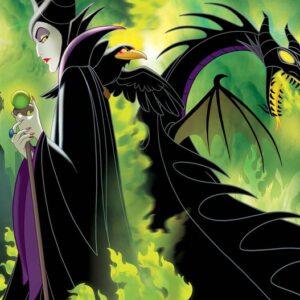 Posters Fototapeta Disney Maleficent 152.5x104 cm - 130g/m2 Vlies Non-Woven - Posters