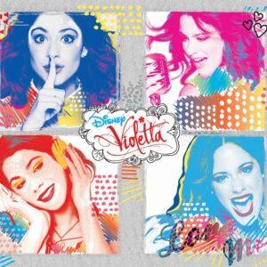 Posters Fototapeta Disney Violetta 254x184 cm - 115g/m2 Paper - Posters