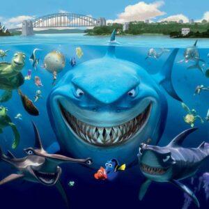 Posters Fototapeta Disney Nemo 416x254 cm - 130g/m2 Vlies Non-Woven - Posters