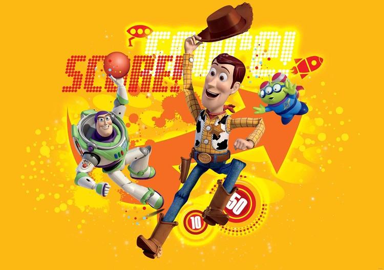Posters Fototapeta Toy Story Disney 416x254 cm - 130g/m2 Vlies Non-Woven - Posters