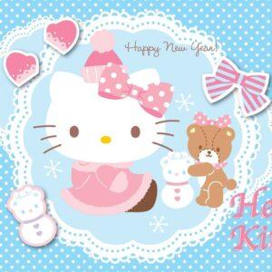 Posters Fototapeta Hello Kitty 254x184 cm - 115g/m2 Paper - Posters