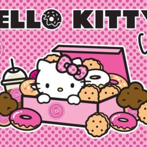 Posters Fototapeta Hello Kitty 368x254 cm - 115g/m2 Paper - Posters