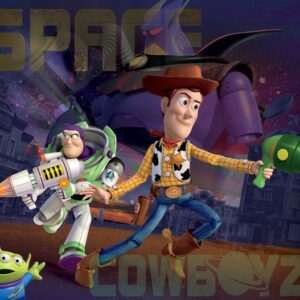 Posters Fototapeta Toy Story Disney 254x184 cm - 115g/m2 Paper - Posters