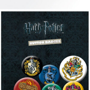 Posters Placka Harry Potter - Crests - Posters