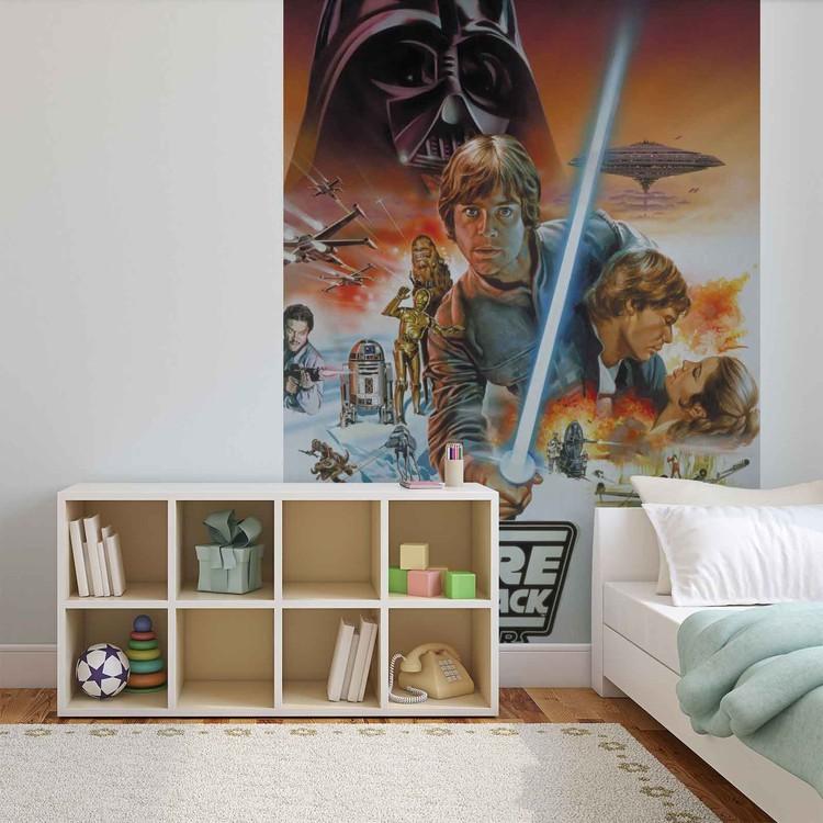 Posters Fototapeta Star Wars Empire Strikes Back 104x70.5 cm - 130g/m2 Vlies Non-Woven - Posters