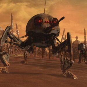 Posters Fototapeta Star Wars DSD1 Dwarf Spider Droid 104x70.5 cm - 130g/m2 Vlies Non-Woven - Posters