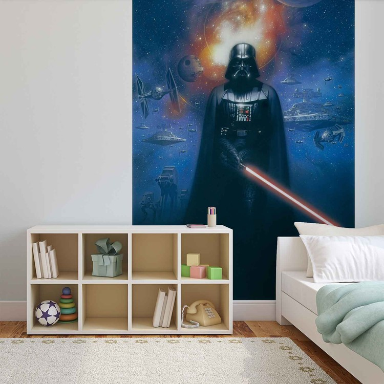 Posters Fototapeta Star Wars Darth Vader 104x70.5 cm - 130g/m2 Vlies Non-Woven - Posters