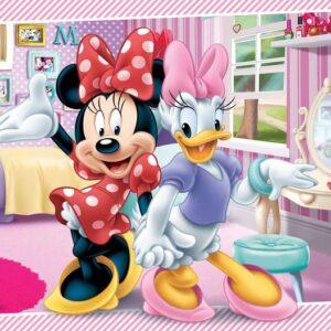 Posters Fototapeta Disney Minnie Mouse 152.5x104 cm - 130g/m2 Vlies Non-Woven - Posters