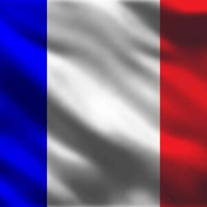 Posters Fototapeta French Flag France 416x254 cm - 130g/m2 Vlies Non-Woven - Posters