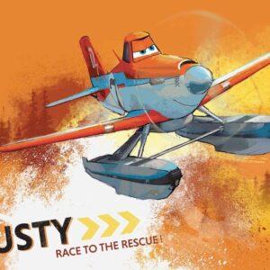 Posters Fototapeta Disney Planes Dusty Crophopper 254x184 cm - 115g/m2 Paper - Posters