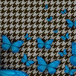 Posters Fototapeta Butterflies 416x254 cm - 130g/m2 Vlies Non-Woven - Posters
