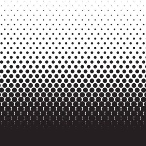 Posters Fototapeta Abstract Black Black Dots 416x254 cm - 130g/m2 Vlies Non-Woven - Posters