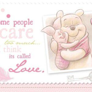 Posters Fototapeta Disney Winnie Pooh Piglet 416x254 cm - 130g/m2 Vlies Non-Woven - Posters