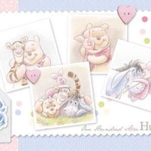 Posters Fototapeta Disney Winnie Pooh Piglet Eeyore Tigger 254x184 cm - 115g/m2 Paper - Posters