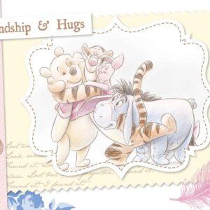 Posters Fototapeta Disney Winnie Pooh Piglet Tigger Eeyore 416x254 cm - 130g/m2 Vlies Non-Woven - Posters