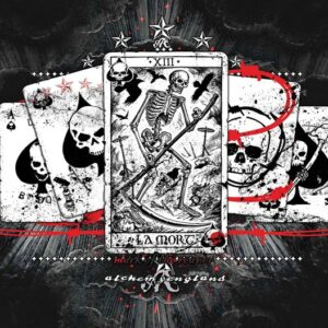 Posters Fototapeta Cards Skull Tarot 104x70.5 cm - 130g/m2 Vlies Non-Woven - Posters